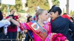 Peruanos celebraron el Día de La Marinera con flashmob en Roma - Noticias de coliseo romano