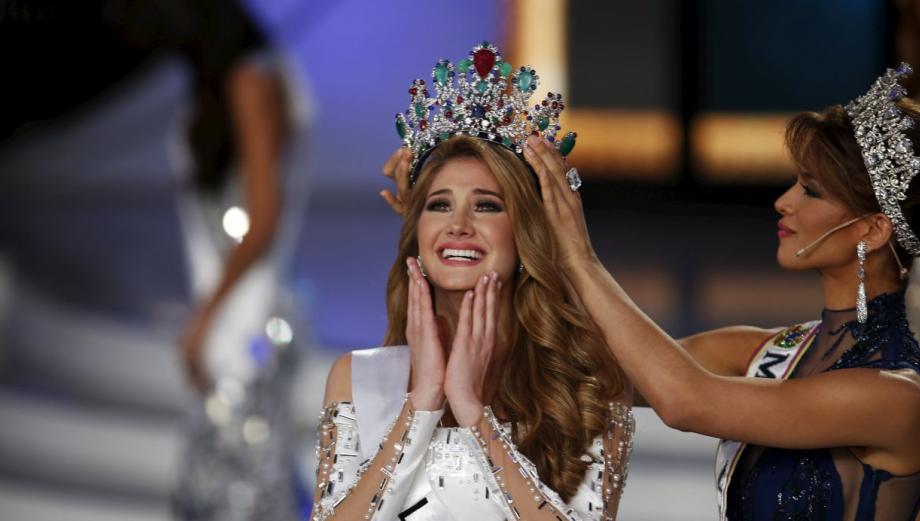 Mariam Habach fue coronada Miss Venezuela 2015