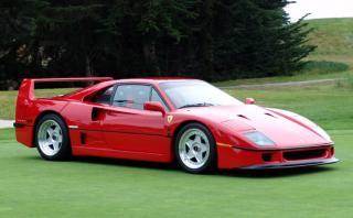 Pondrán a subasta un Ferrari F40 exclusivo