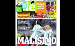 """La prensa argentina hunde a la selección de Martino: """"Malísimo"""""""