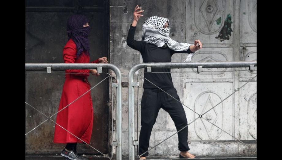 Las mujeres palestinas se unen a la lucha contra Israel