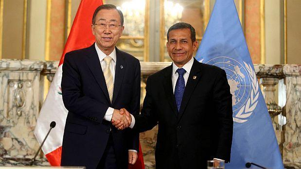 Humala a la ONU: 'Trabajamos un plan de desarrollo amazónico'