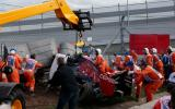 Piloto de Fórmula 1 salva de morir tras terrible accidente