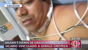 Caso Oropeza: alias 'Ciego David' habló desde el hospital
