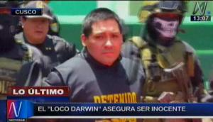 'Loco Darwin' sindica a 'Harry' como responsable de extorsiones