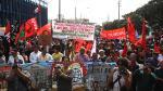 Cientos de personas protestaron contra cumbre del FMI y el BM - Noticias de comisión por flujo