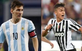 """Messi señala a Dybala como el """"futuro"""" del fútbol argentino"""