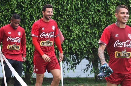 Selección entrenó con buen ánimo y óptimas condiciones físicas