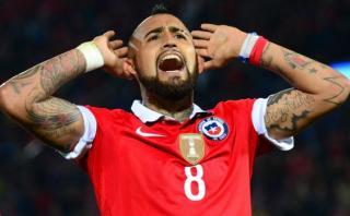Chile: Arturo Vidal volvió a entrenar y podría jugar ante Perú