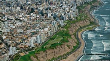 Espectaculares imágenes de Lima vista desde el cielo