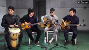 En El Comercio: mira a Libido en una sesión acústica [VIDEOS]