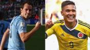 Uruguay vs. Colombia: chocan hoy por Eliminatorias Rusia 2018