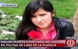 La Molina: trabajadora del hogar fue hallada muerta en piscina