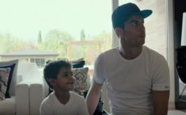 Cristiano Ronaldo se enfada con su hijo por esta razón [VIDEO]