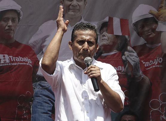 """Ollanta Humala: """"No está en mis funciones ser 'miss simpatía'"""""""