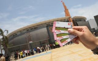 Perú vs. Chile: PNP dejará ingresar con entradas de reventa