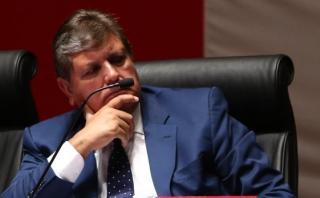 """Alan García sobre Gerald Oropeza: """"No soy tío de nadie"""""""