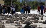 Carretera Puno - Moquegua fue bloqueada en segundo día de paro