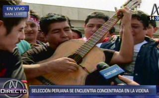 Selección peruana: hincha le dedica emotiva canción (VIDEO)