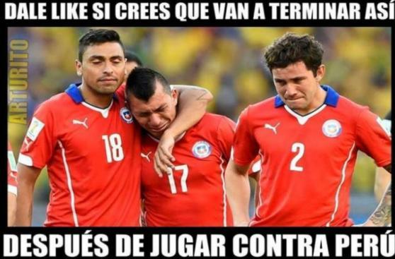 Perú vs. Chile: memes en previa del partido por Eliminatorias