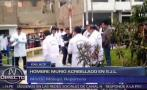 San Juan de Lurigancho: obrero fue acribillado frente a colegio