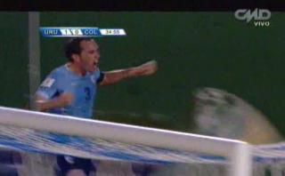 Uruguay: cabezazo de Godín para el 1-0 ante Colombia (VIDEO)
