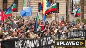 Chile: miles de personas marchan por el pueblo mapuche [VIDEO]