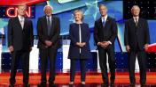 Hillary Clinton y Bernie Sanders destacaron en debate demócrata