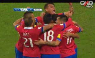 Perú vs. Chile: Alexis Sánchez sorprendió y abrió el marcador