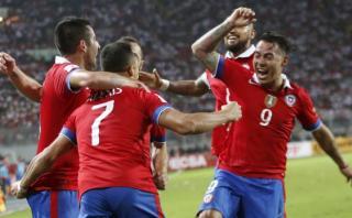 Chile remontó a Perú con dos goles en tres minutos (VIDEO)