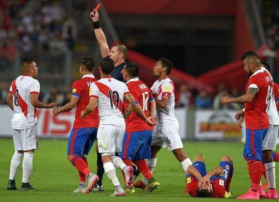Perú vs. Chile: perdemos 4-2 por Eliminatorias Rusia 2018