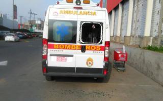 Robo a ambulancia de los bomberos: empresa repondrá equipos