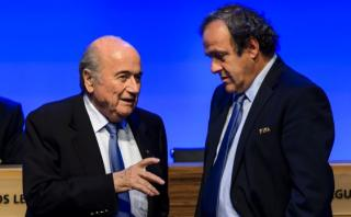 "Blatter sobre pago a Platini: ""Fue un acuerdo de caballeros"""