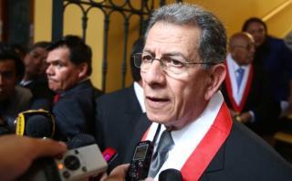 Urviola niega injerencia política en caso de Nadine Heredia