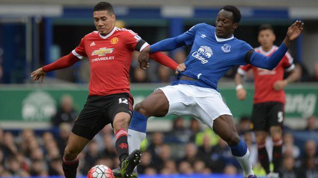 Manchester United enfrenta a Everton por la Premier League. (Foto: AFP)