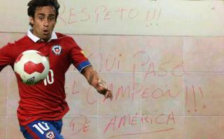 Mago Valdivia se defendió tras ser acusado de pintar camarín