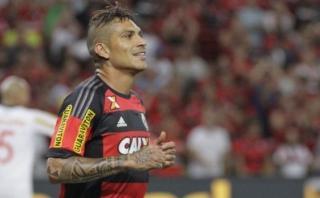 Con Paolo Guerrero, Flamengo perdió 1-0 ante Internacional