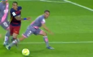 Neymar demostró su talento con esta sensacional jugada  [VIDEO]
