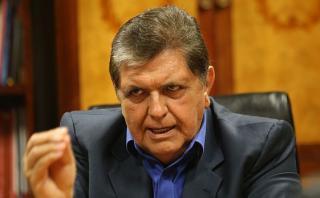"""Alan García: """"Yo creo que el Perú es un país minero"""""""