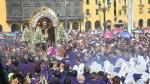 Señor de los Milagros: los desvíos por la procesión de hoy - Noticias de plaza castilla