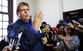 Alan García confía en remontar en las encuestas al 2016