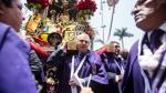 Señor de los Milagros: Castañeda distinguió a la sagrada imagen - Noticias de manuel cruz moreno