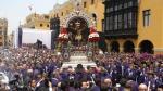 Señor de los Milagros recibe homenajes en su 2da salida [FOTOS] - Noticias de cristo moreno