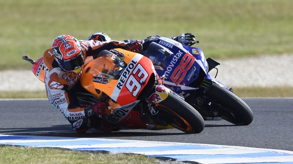 Márquez suma su victoria 50 en el campeonato. (Foto: Dppi)