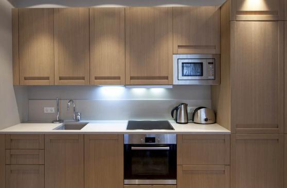 Claves para que una cocina peque a sea funcional ideas y for Gabinetes de cocina pequena