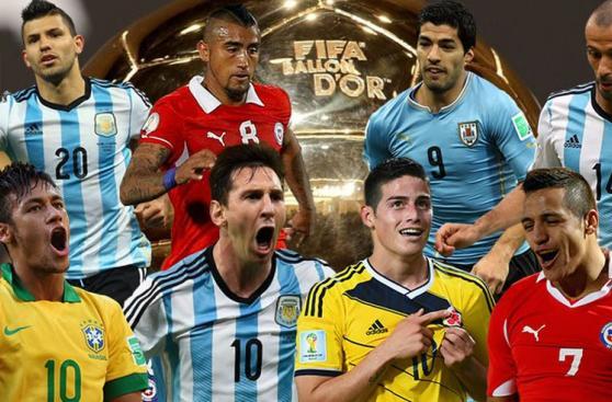 Balón de Oro: los sudamericanos que buscan ganarlo (FOTOS)