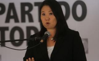 """Keiko: """"Humala debe separar a Nadine del cargo de primera dama"""""""