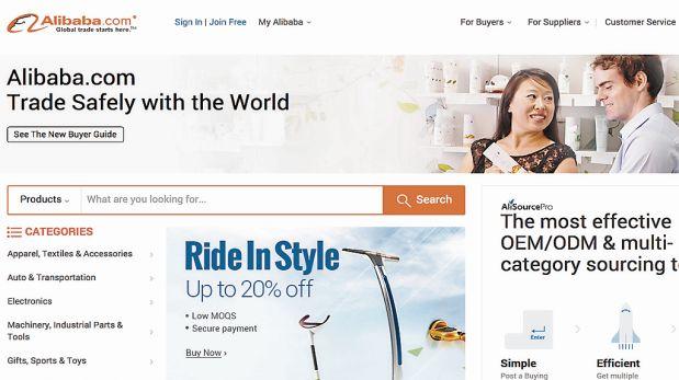 IMITABLE. Alex Tsai, director de márketing de Alibaba, considera que aquí se puede repetir el éxito de su portal. (Imagen: captura)