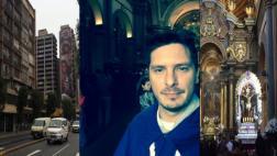 Cristian Rivero mostró su devoción por el Señor de los Milagros