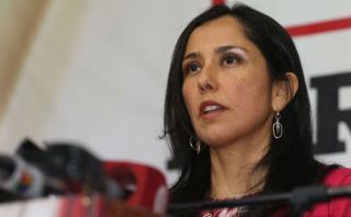 """Nadine Heredia: """"Estoy decepcionada con la decisión del TC"""""""